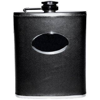 Elegance 6 oz Flask with PU Wrap
