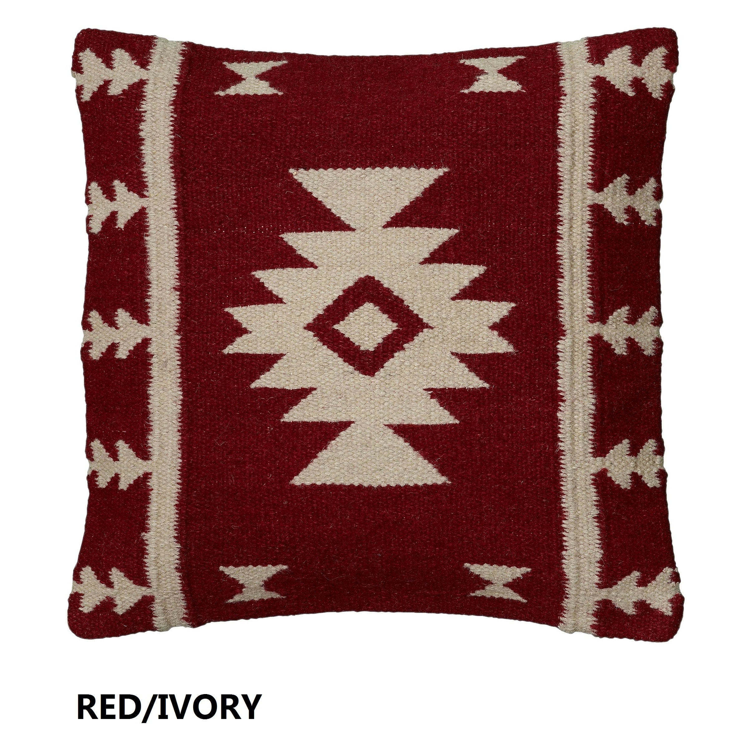 Rizzy Home Woven Southwest-patterned Decorative Throw Pillow eBay