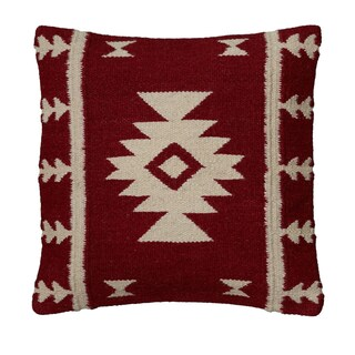 Rizzy Home Woven Southwest-patterned Decorative Throw Pillow (2 options available)