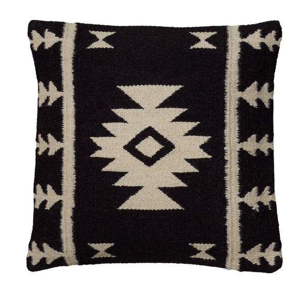 Rizzy Home Woven Southwest-patterned Decorative Throw Pillow. Opens flyout.