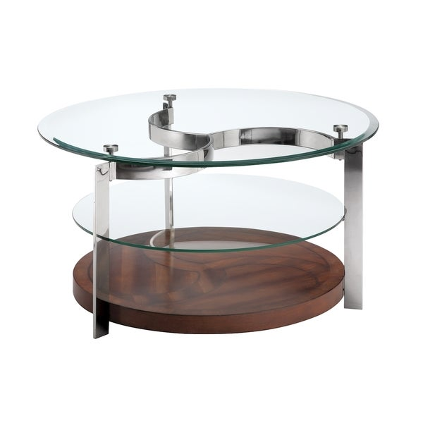 Charmant Torino Round Cocktail Table