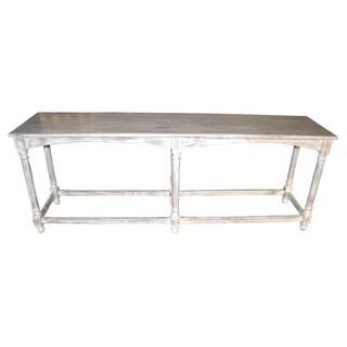 Longbottom Grey-Blue Console Table