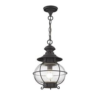 Livex Lighting Harbor Bronze Outdoor Chain Lantern
