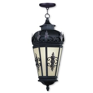 Livex Lighting Berkshire 1-light Bronze Outdoor Chain Lantern