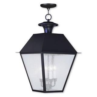 Livex Lighting Mansfield Bronze 4-light Outdoor Chain Lantern