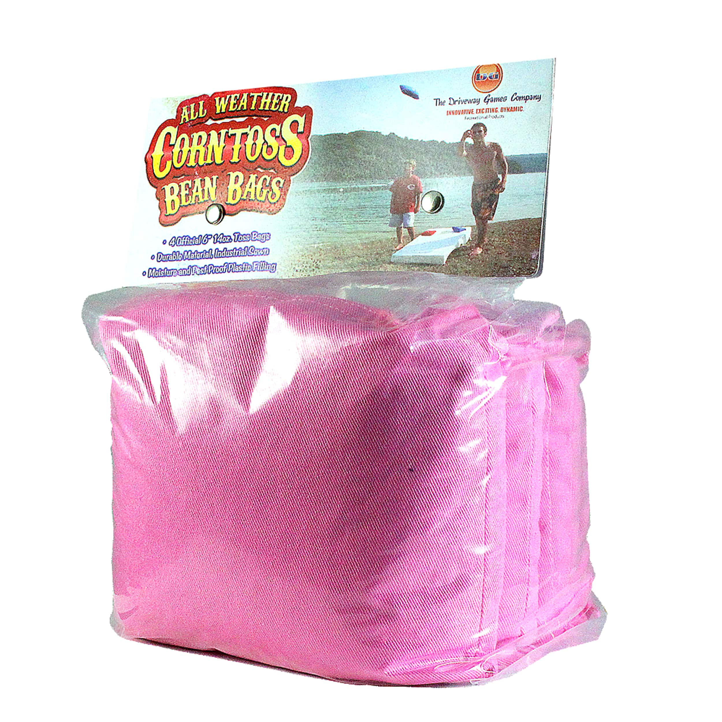 Driveway Games All Weather Corn Toss Pink Bean Bags (1)