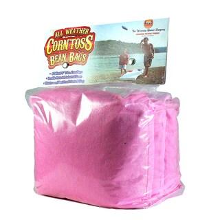 All Weather Corn Toss Pink Bean Bags