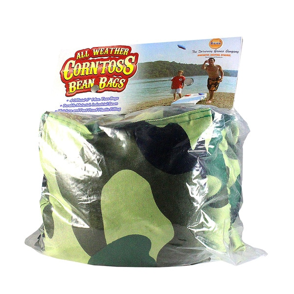 Corn Toss Camo Green Bean Bags