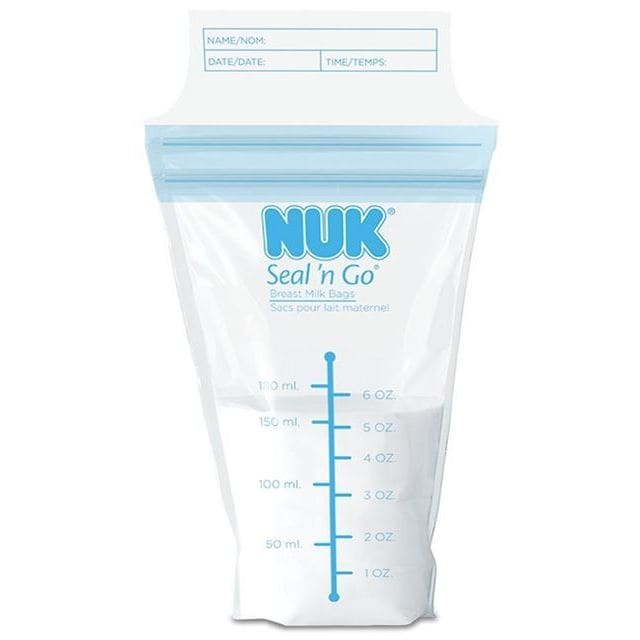 Nu-kote Seal 'n Go Breast Milk Bags (100 Count) (NUK Seal...