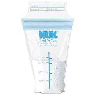 NUK Seal 'n Go Breast Milk Bags (100 Count)