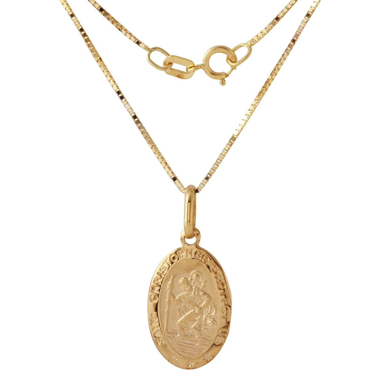 Pierścionki i obrączki Rose Gold Saint Christopher Oval Women's Religious Ring Sztuczna biżuteria