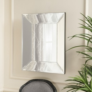 Christopher Knight Home Opheli Square Wall Mirror