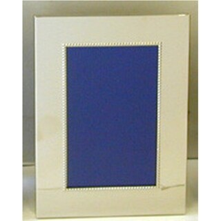 Heim Concept Nickel Plated Bead Photo Frame 5 x 7""