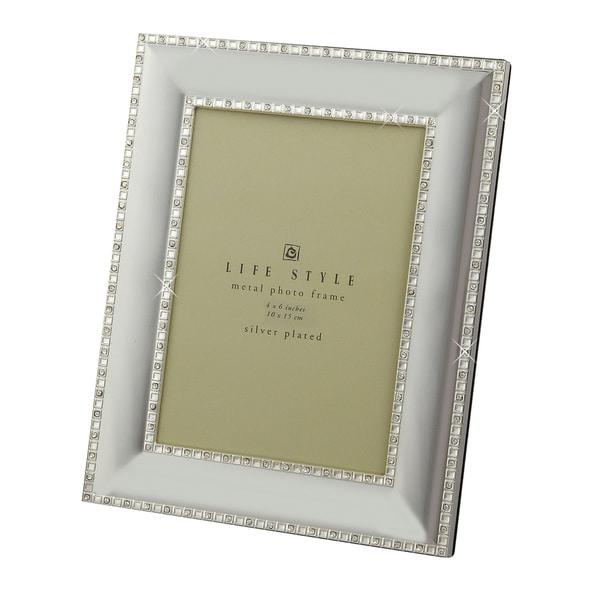 "Heim Concept Crystal Border 4x6"" Photo Frame"