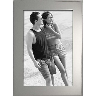 "Heim Concept Luxe Nickel Plated 5x7"" Photo Frame, PU Back"