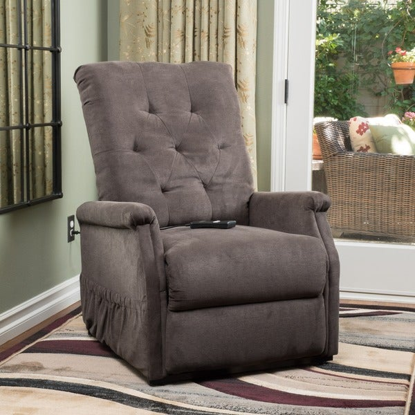 Orin Fabric Recliner Lift Club Chair By Christopher Knight