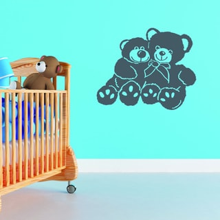 Bear Buddies Vinyl Wall Decal