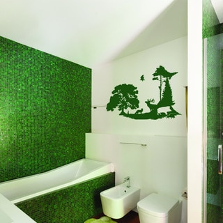 Forest Clearing Vinyl Wall Decal