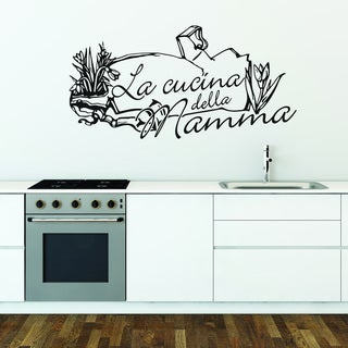 Cucina Stellata Quotes and Sayings Wall Decal Sticker Mural Vinyl ...