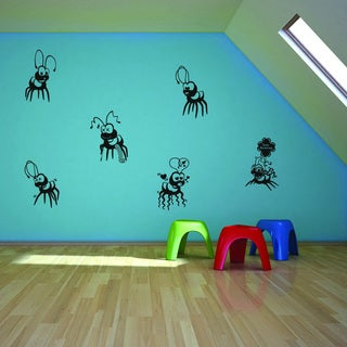 Style and Apply Fire Ants II Vinyl Wall Decal and Sticker Mural Art