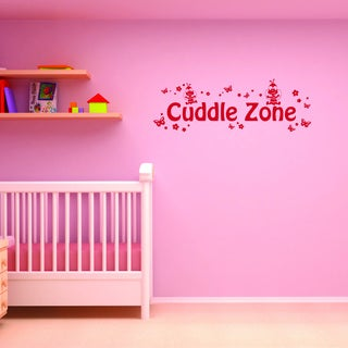 Style and Apply Cuddle Zone Vinyl Wall Decal and Sticker Mural Art Home Decor