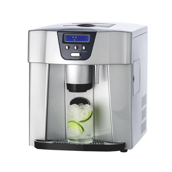 Large Capacity Countertop Ice Maker : Ice-Maker-Dispenser-Countertop-Ice-Cube-Making-Machine-2-Sizes-of-Ice ...