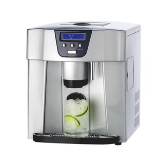 NutriChef PICEM75 2-size Countertop Ice Cube Making Machine