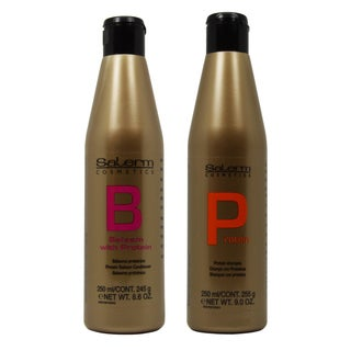 Salerm Protein Shampoo and Balsam Protein Conditioner 2-piece Set