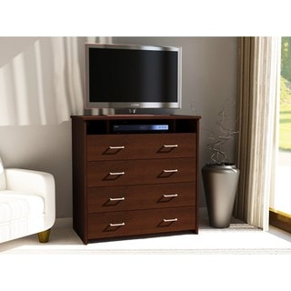Ameriwood Julian Espresso Media Chest
