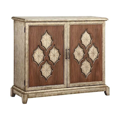 Francis Champagne Accent Cabinet