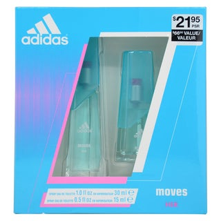 Adidas Moves Women's 2-piece Gift Set
