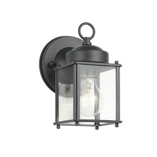 Kichler Lighting Traditional 1-light Black Outdoor Wall Lantern