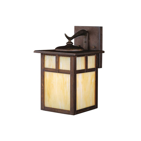 Kichler lighting alameda collection 1 light canyon view outdoor wall lantern