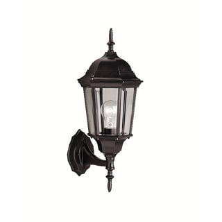 Kichler Lighting Madison Collection 1-light Black Outdoor Wall Lantern