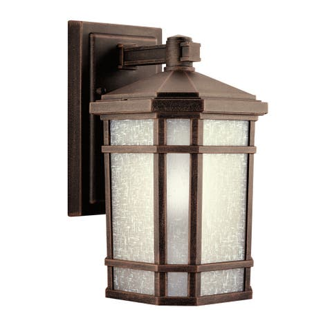 Kichler Lighting Cameron Collection 1-light Prairie Rock Outdoor Wall Lantern