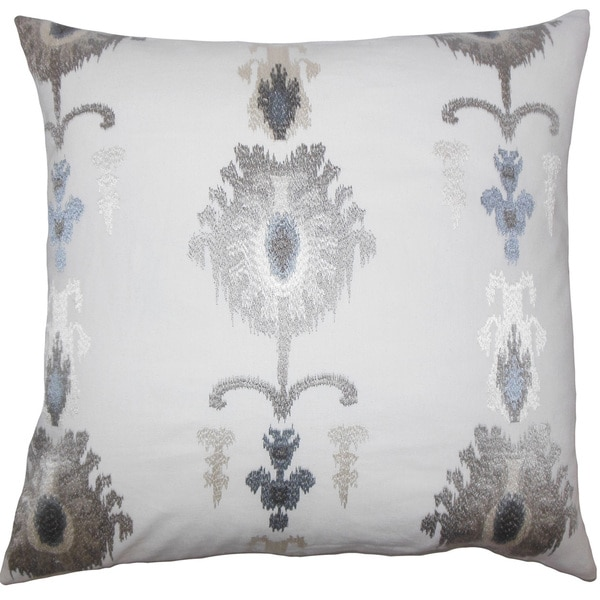 Taggart Ikat Throw Pillow Cover