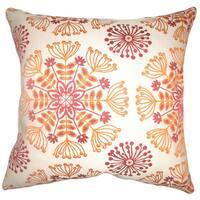 Jamesie Floral Throw Pillow Cover