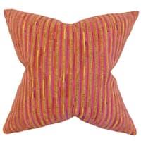 Qiturah Stripes Throw Pillow Cover