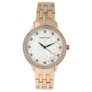 Rampage RP1129 Rose Gold Women's Bracelet Watch