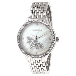 Rampage Ladies' RP1126SL Silver-plated Metal Bracelet Watch