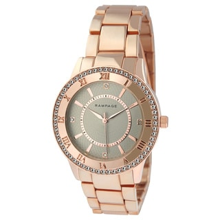 Rampage Women's RP1124RGTP Rose Gold Bracelet Watch