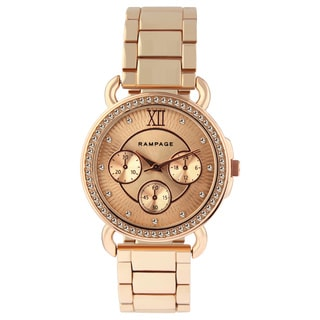 Rampage Women's Rose Gold Bracelet Watch
