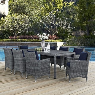 Sunbrella 9-piece Outdoor Patio Dining Set