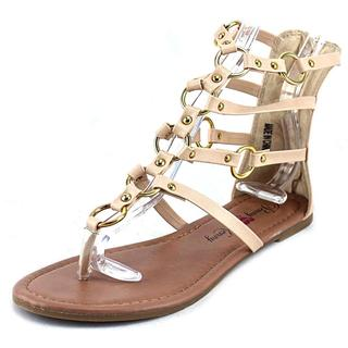 Penny Loves Kenny Women's Matrix Tan Faux Leather Sandals