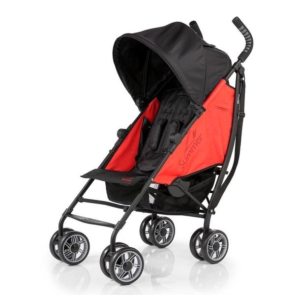 Shop Summer Infant 3d Flip Rerun Red Convenience Stroller