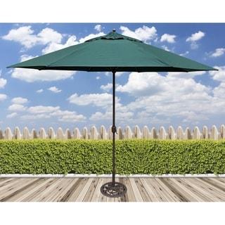 Link to Tropishade 11' Aluminum patio umbrella with Green Olefin Canopy Similar Items in Patio Umbrellas & Shades