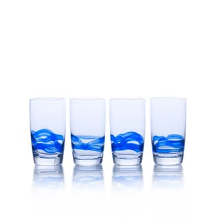 Mikasa Admiral Cobalt Highball Glasses (Set of 4)