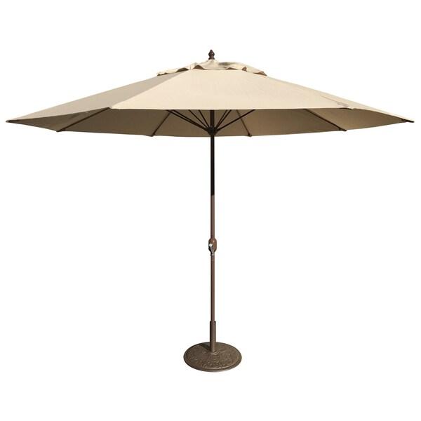 Merveilleux Tropishade 11u0026#x27; Aluminum Patio Umbrella With Beige Olefin Cover