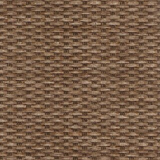 "Chicology Adjustable Sliding Panel, Frontier - Natural Woven, Privacy, 80""W X 96""H - Birch Truffle"