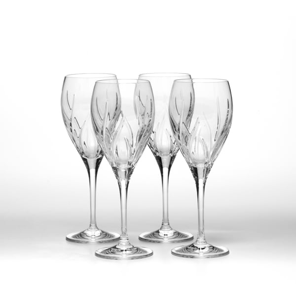 79d6ecb19a1 Mikasa Agena Crystal 10-ounce Water Goblets (set of 4)